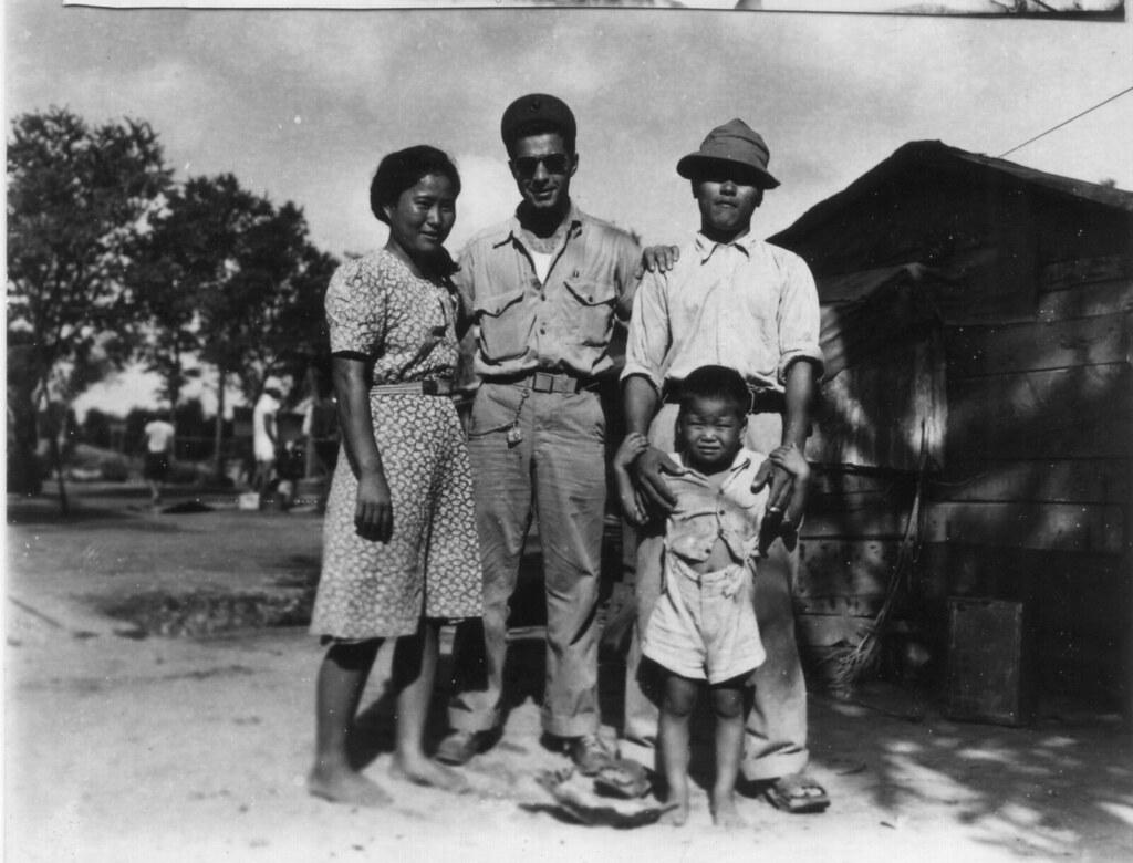 Guy Gabaldon And Japanese Family Saipan Stockade Flickr