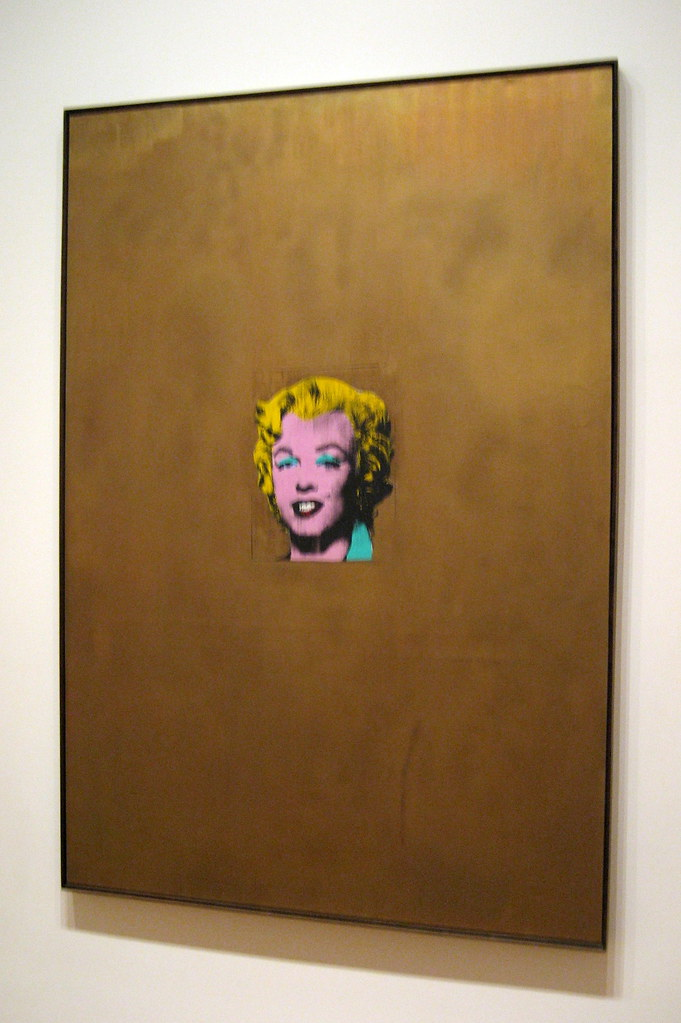Nyc Moma Andy Warhol S Gold Marilyn Monroe Andy