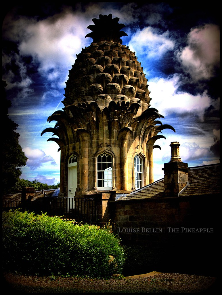 Dunmore Pineapple Folly Airth Scotland Well I Thought Th Flickr