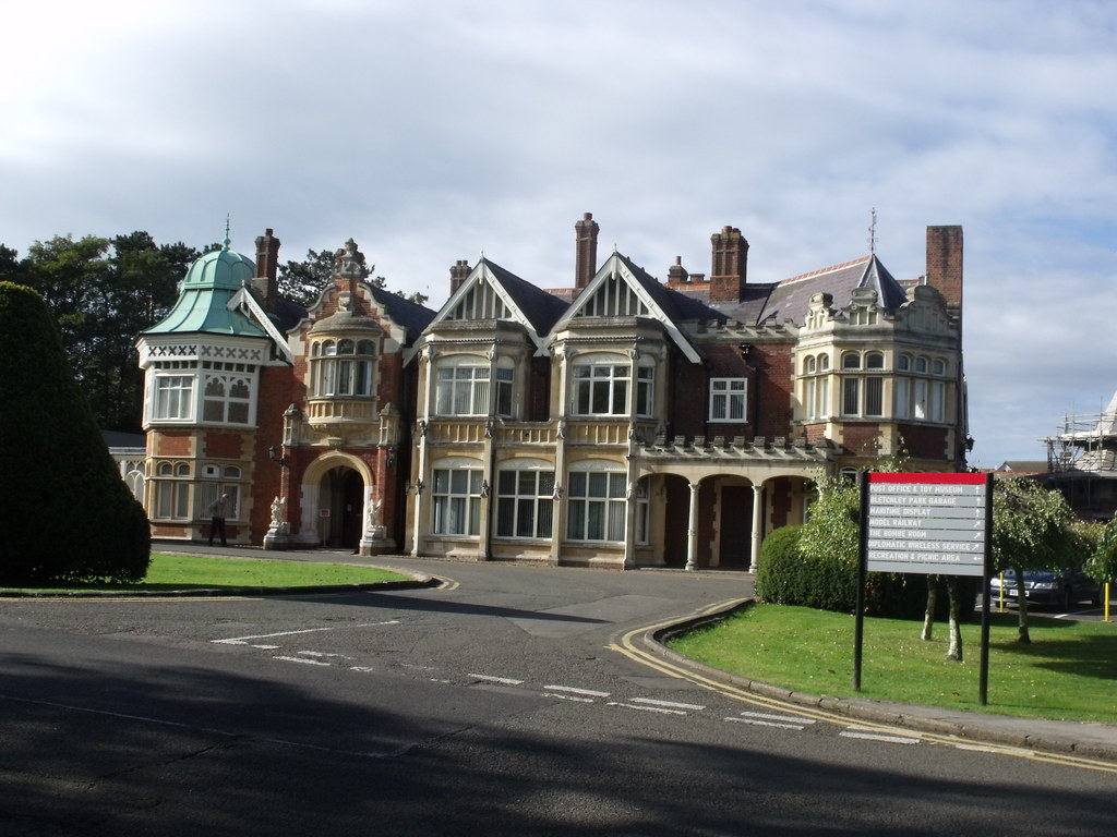 Bletchley Park House Mansion This Is The Mansion At