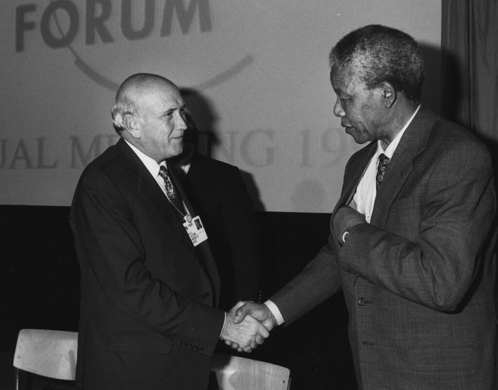 Frederik De Klerk Amp Nelson Mandela