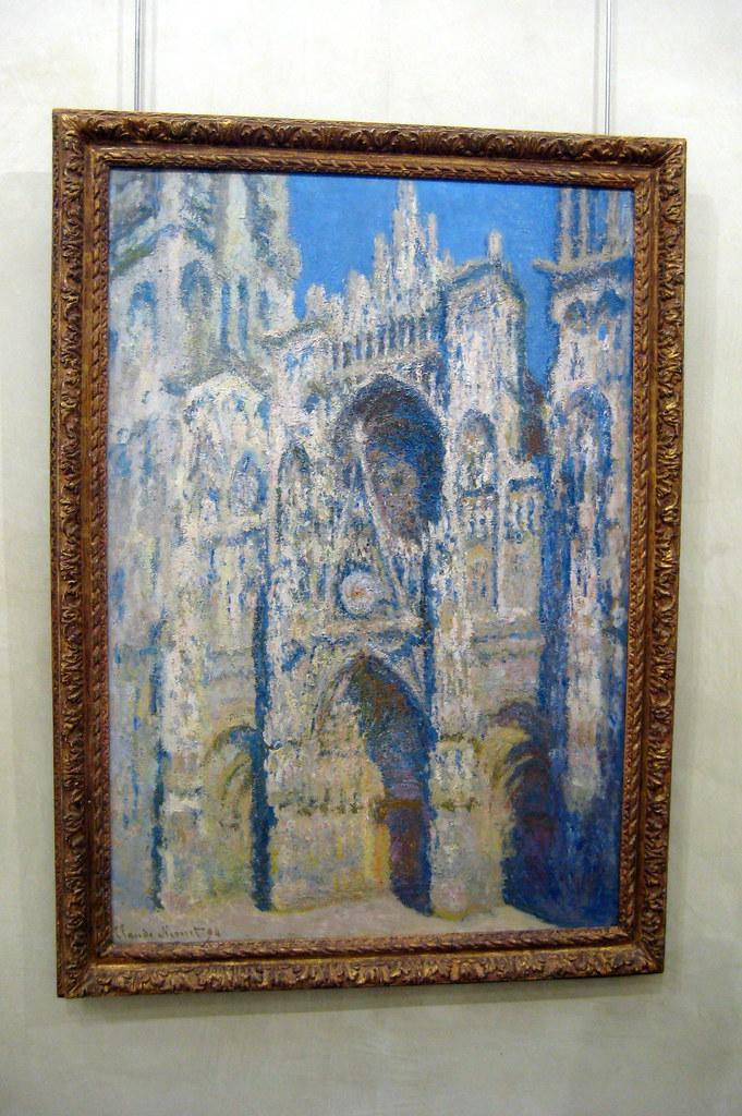 Paris Muse DOrsay Claude Monets La Cathdrale De Rou