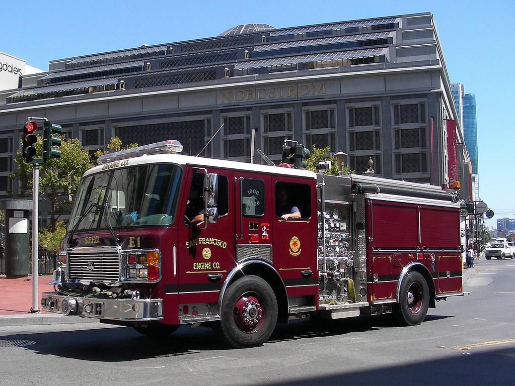 San Apparatus Department Francisco Fire