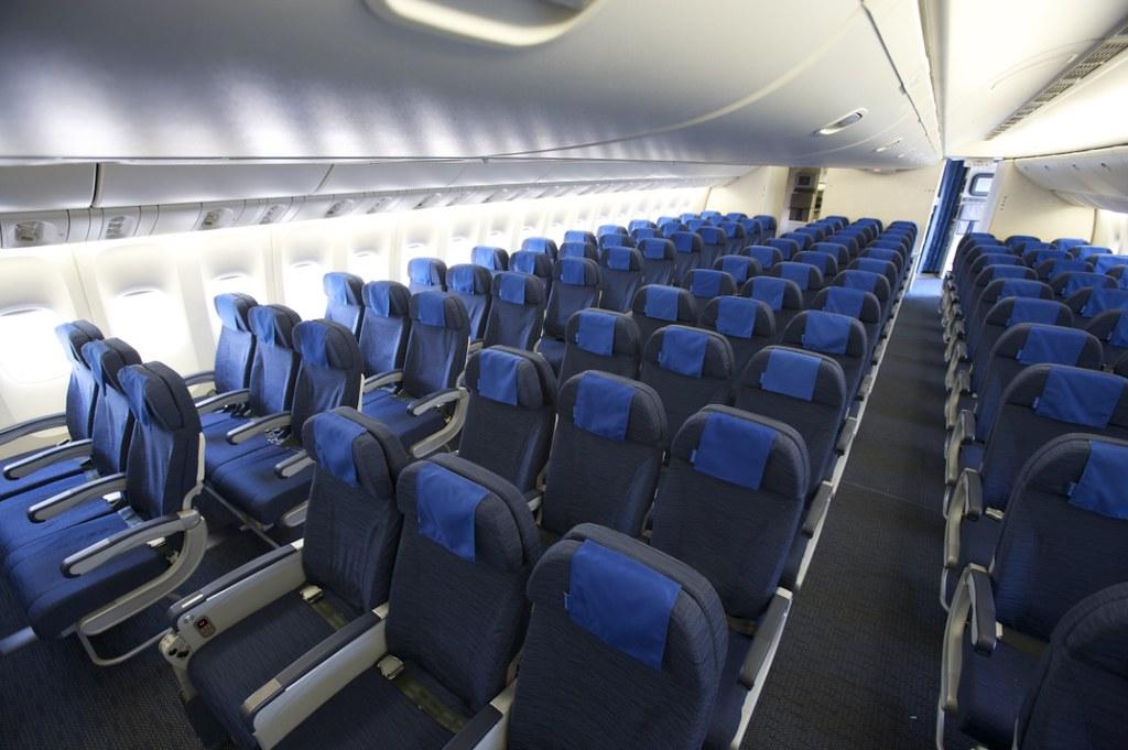 Boeing 777x Interior