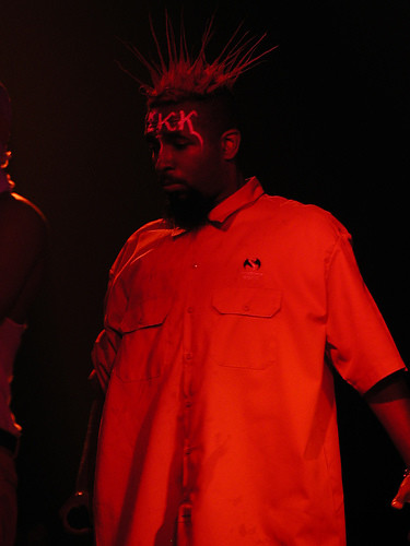 Tech N9ne Tech N9ne Perform At The Willa Wonka 2003 Tour