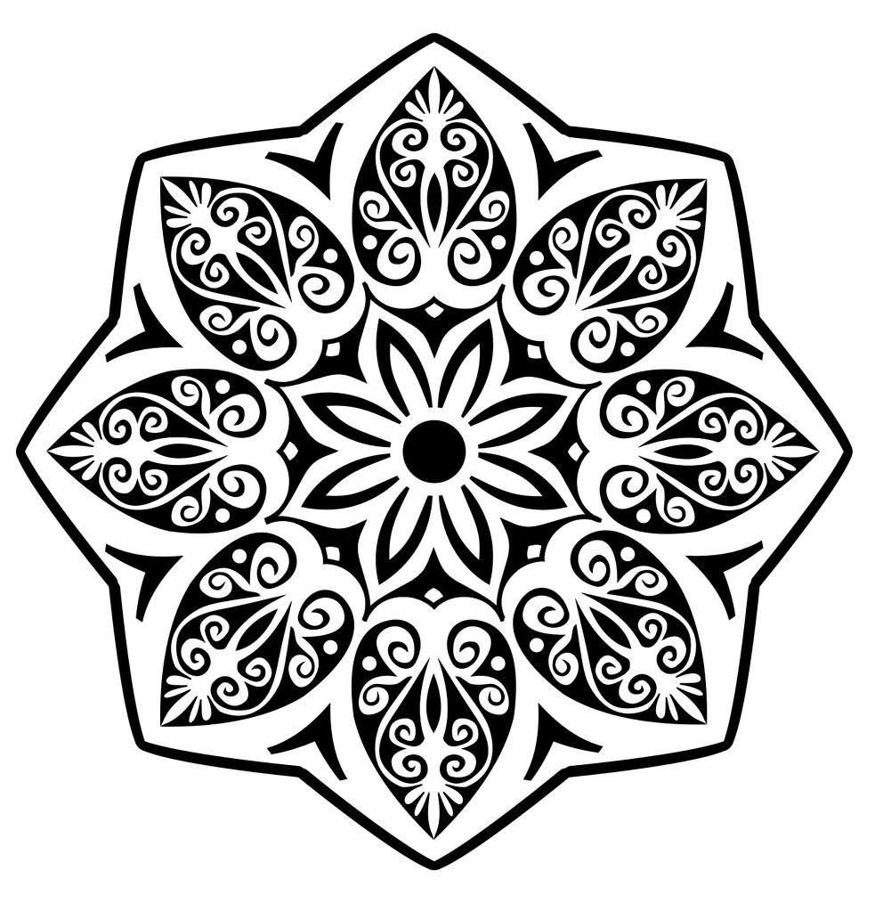 Mandala Tribal Trabalho Realizado No Corel Draw