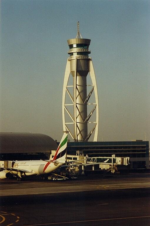 Atc Tower Dubai Dubai International Airport Uae 2002