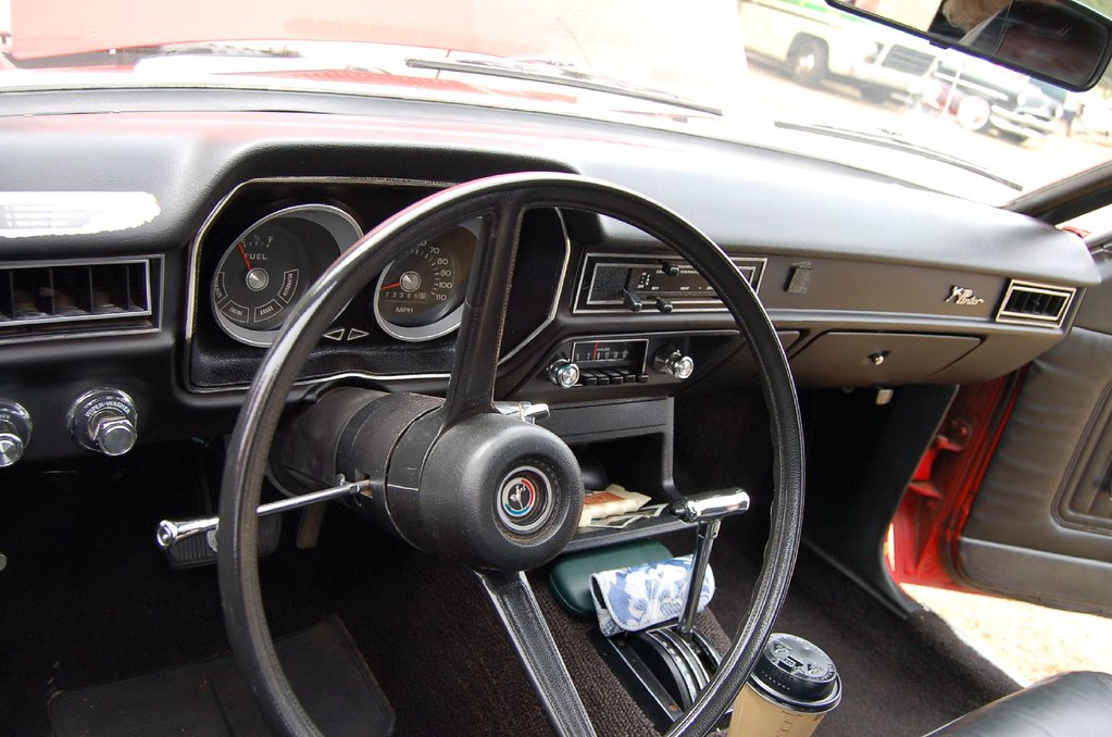1974 Ford Pinto Interior Taken During The 2007 Red