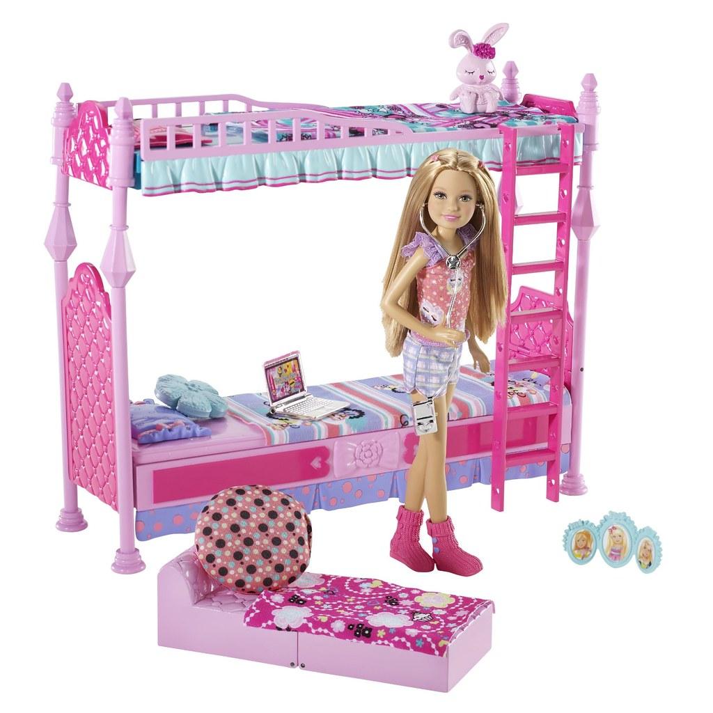 Barbie Sisters Sleeptime Bedroom And Stacie Doll Set Flickr