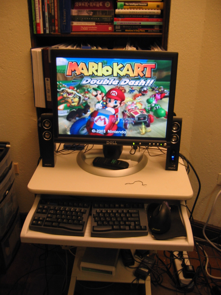 My ComputerGamecube Setup Finally I Can Play Gamecube