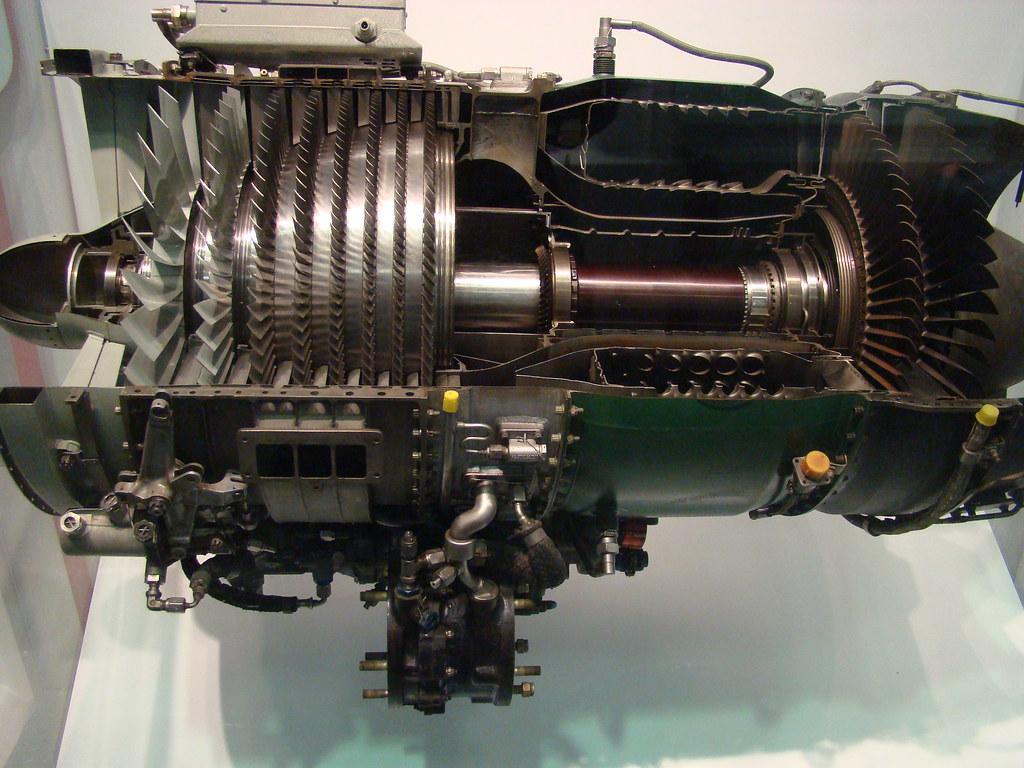 General Electric J85 Ge 17a Turbojet Engine