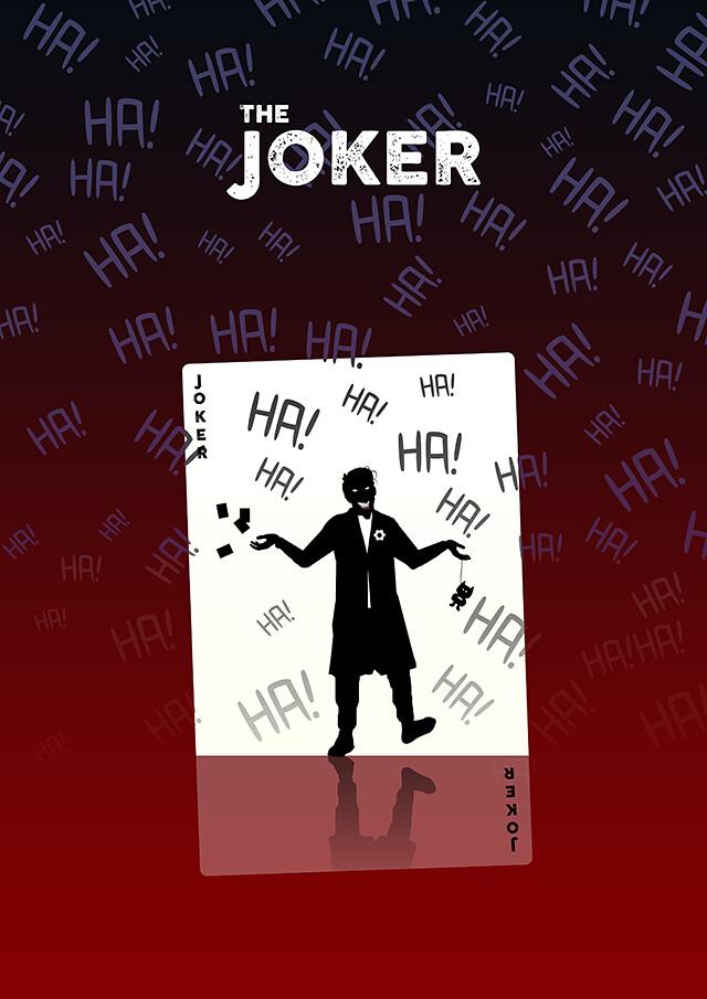 The Joker Silhouette Design