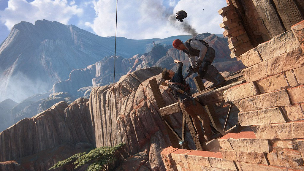 Uncharted 4: A Thief's End - 'Madagascar' Gameplay 9