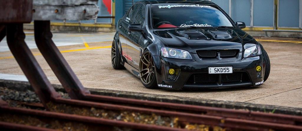 Arif's 'SKD55' Holden VE SSV Drift Car - Sirck