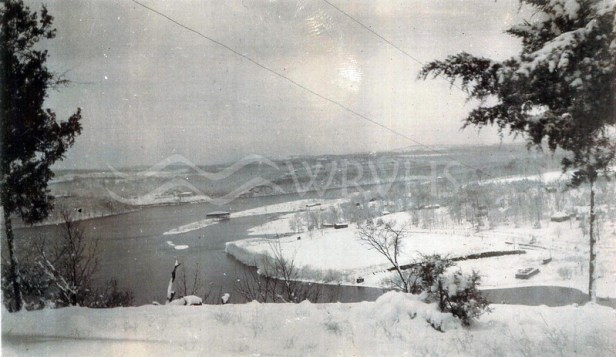 The White River In Winter