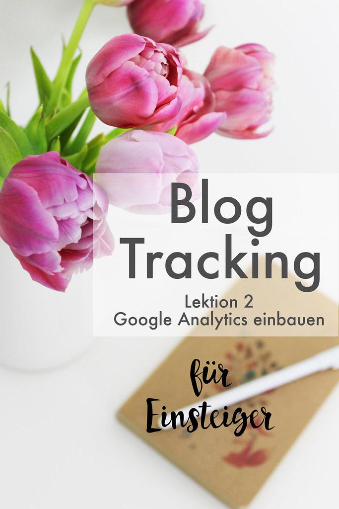 blog tracking 101 google analytics einbauen kleinstadtloft. Black Bedroom Furniture Sets. Home Design Ideas