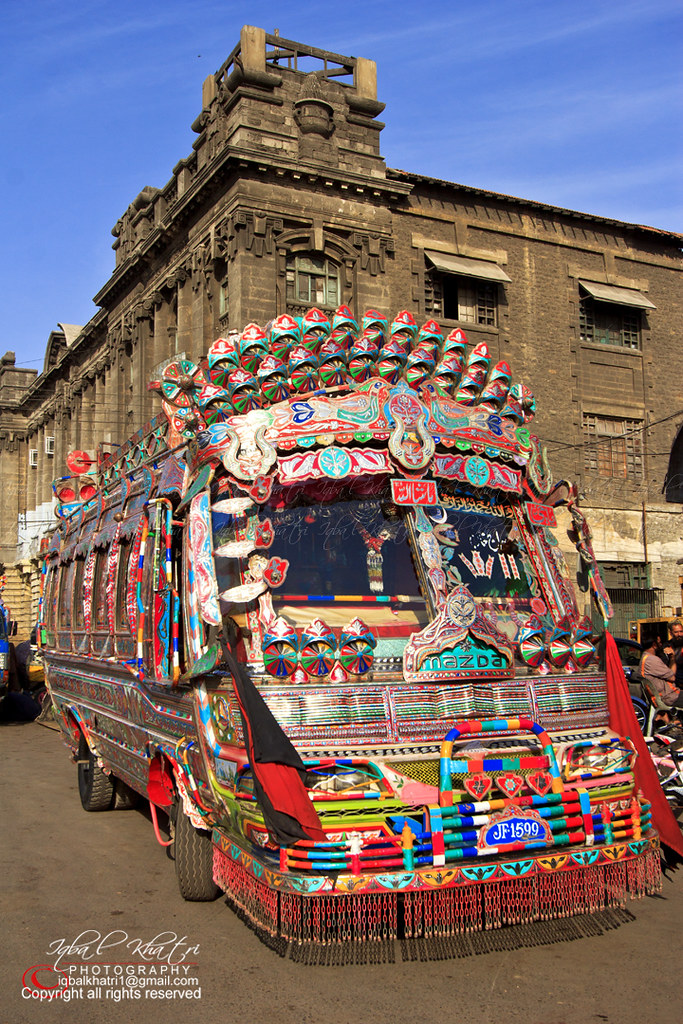 W11 Bus Is The Icon Of Karachi Beautiful Pakistan And