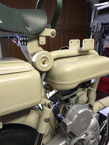 Alcuni particolari di Lambretta 150D