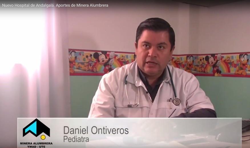 Daniel Ontiveros. Pediatra. Nuevo Hospital de Andalgalá