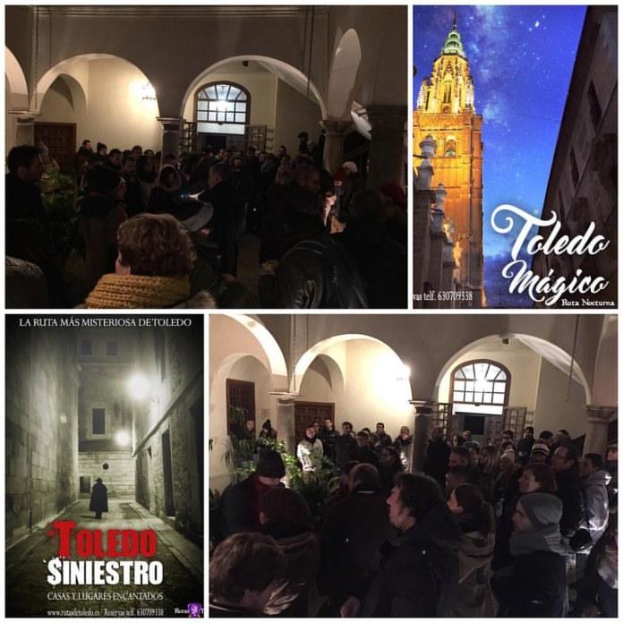 Rutas por Toledo y visitas guiadas nocturnas. Con RutasdeToledo.es