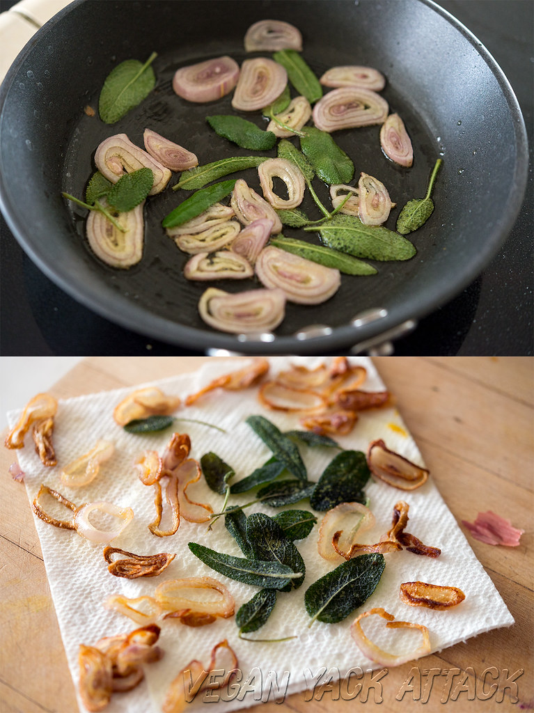 Fried Sage and Shallots
