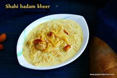 shahi badam semiya kheer