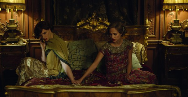 Gerda and Lili continued sharing a bed as friends. Credit: Universal Pictures