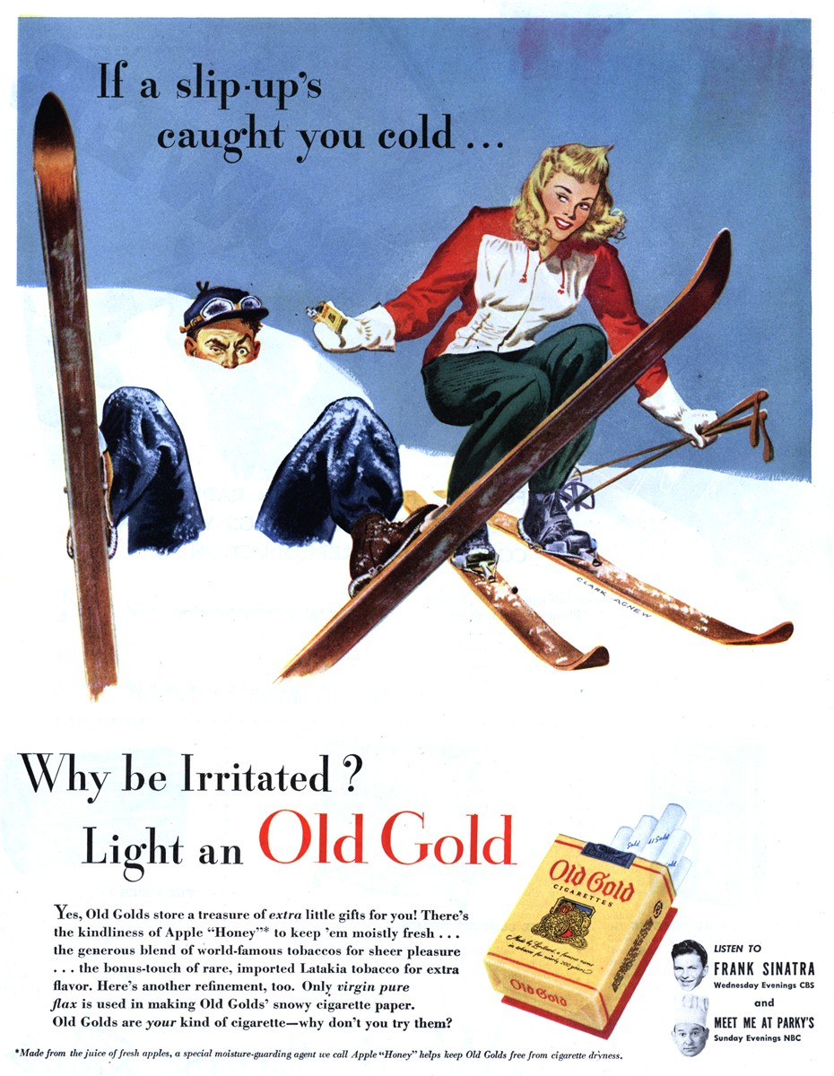 Old Gold - published in The Saturday Evening Post - February 23, 1946