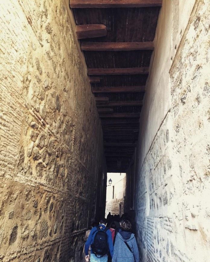 Visita guiada pasando bajo los Cobertizos de Toledo