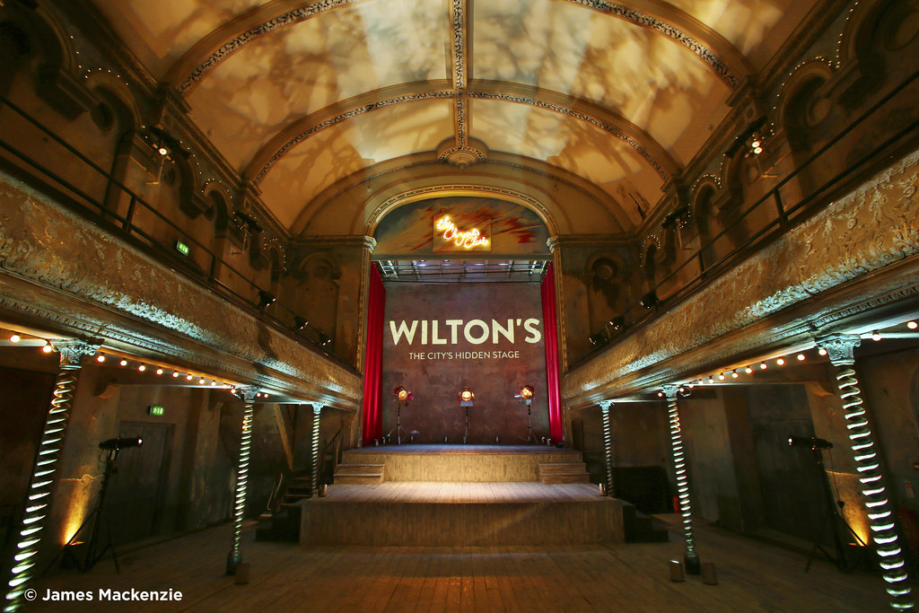 The Auditorium Of Wilton S Music Hall Image By Photograph