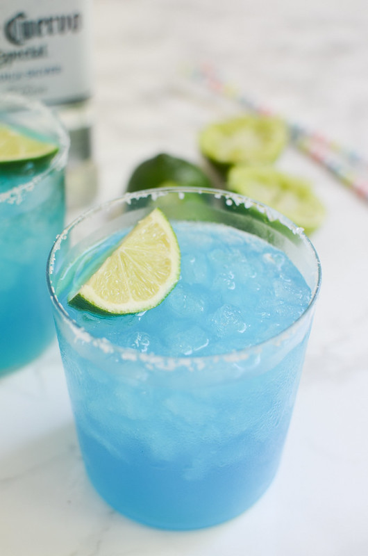 Blue Margaritas {Fake Ginger}