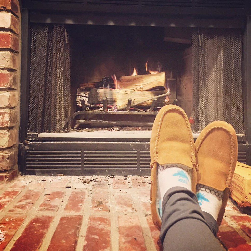 Wood Burning Fireplace With Gas Starter Best Home Improve