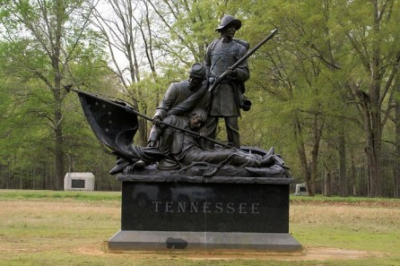 Photo by Rene Averett - Shiloh Monument