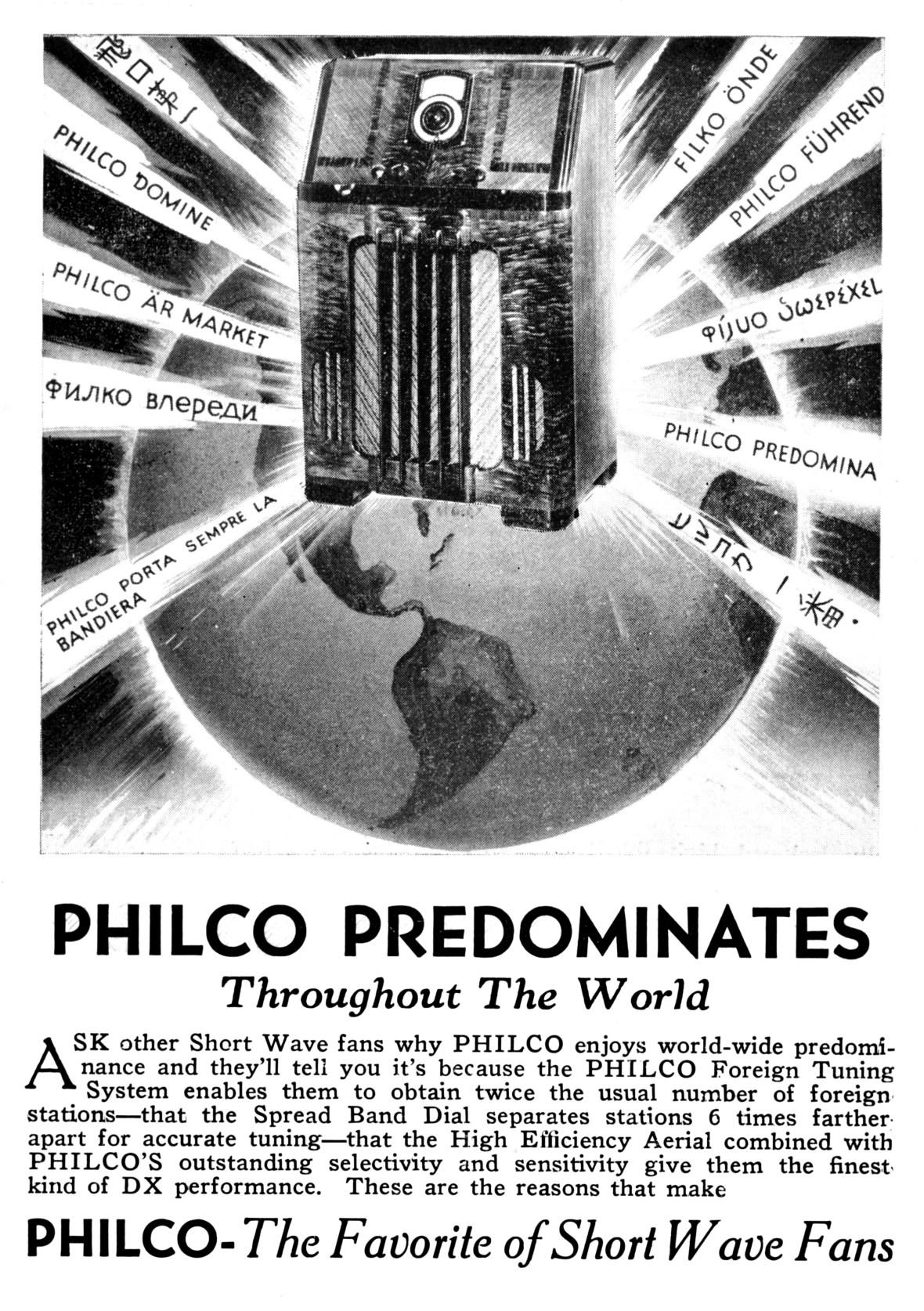 Philco - 1937