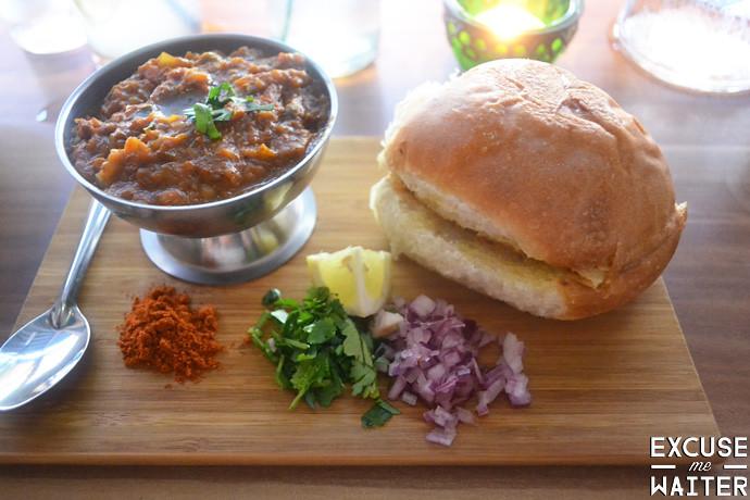 Bombay Street Kitchen Menu