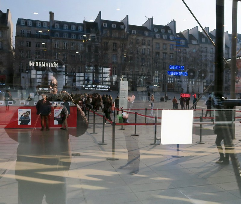 We stayed a few blocks from the Pompidou, a wonderful modern art gallery
