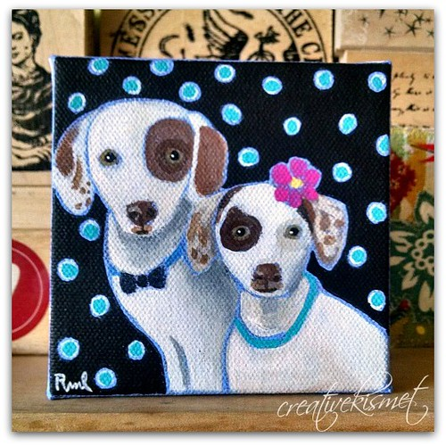 Pet portrait - Art by Regina Lord