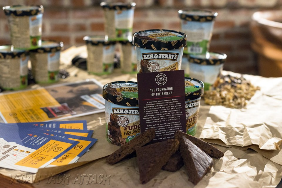 Ben & Jerry's Vegan Fudge Brownie