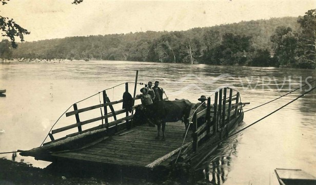 Ferry on the White River