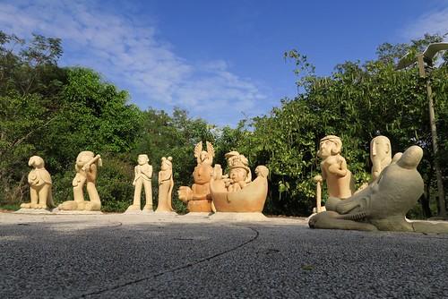 台南樹谷園區「樹之谷」:充滿公共藝術作品的散步路線(11.5ys)