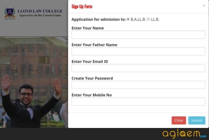 Lloyd Entrance Test (LET) 2019 Application Form  %Post Title | AglaSem