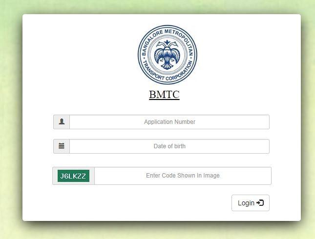 BMTC Admit Card 2018