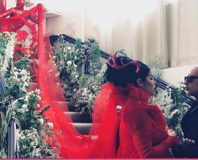 KAT VON D WEDDING