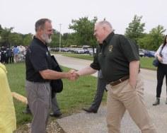 Photo of Governor Hogan and Secretary Belton