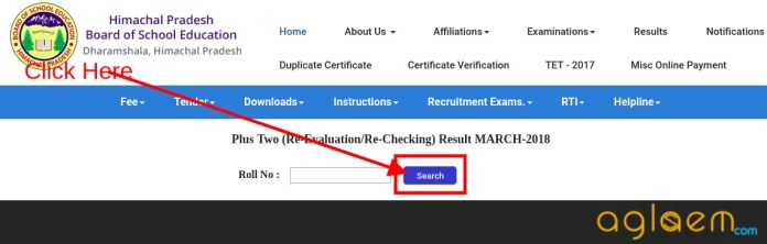 HPBOSE 12th Revaluation/ Re-Checking Result 2018