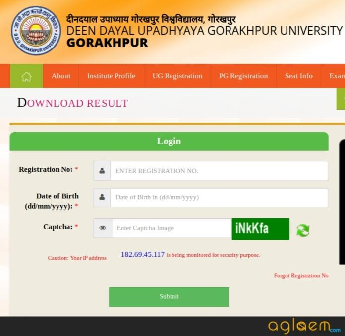 DDU Entrance Exam Result 2018