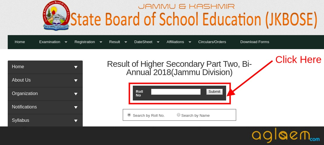 JKBOSE 12th Part Two Bi-Annual Result 2018 (Jammu Division)