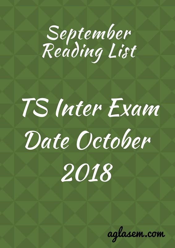 TOSS Inter Exam Date October 2018