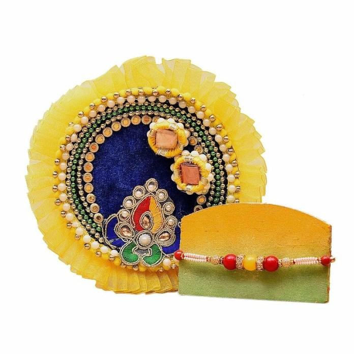 rakhi thali online buy
