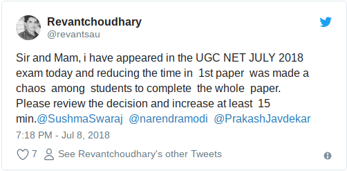 ugc Net cut off marks